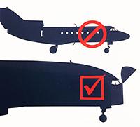 CAO label cargo aircraft only label IATA