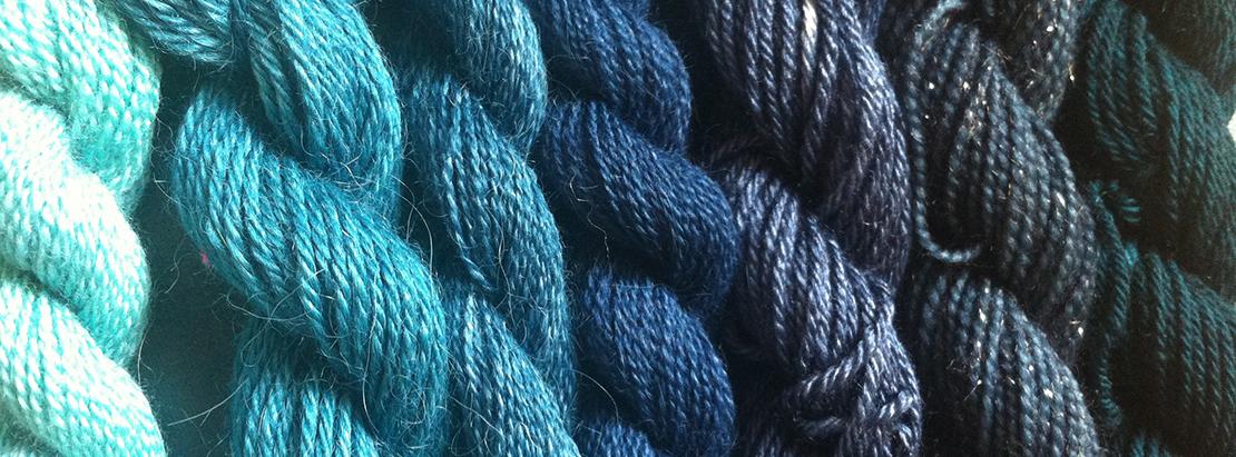 blue wool scale