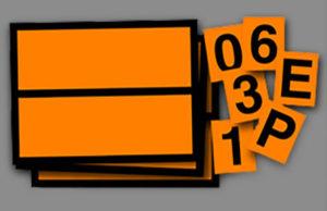 ADR plate adr panel hazchem image