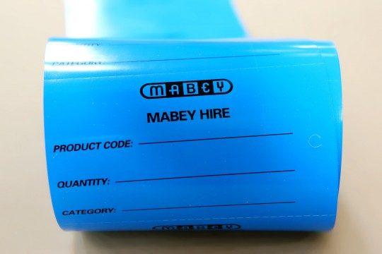 non tearable tags hazard tags
