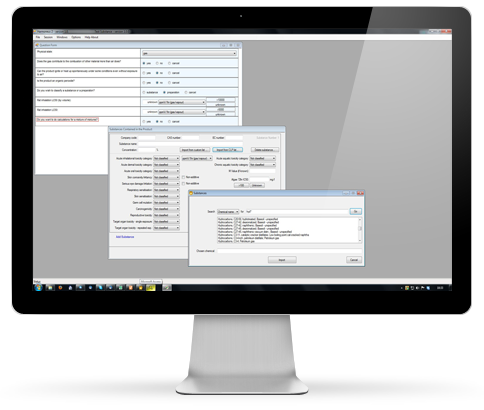 chemical classification software