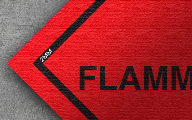 class 3 label flammable liquid label image