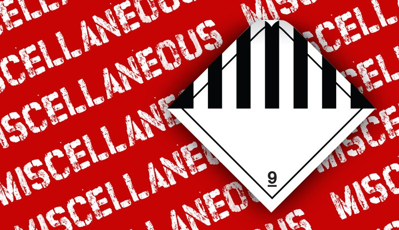 class 9 label miscellaneous label