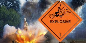 class 1 labels explosive label