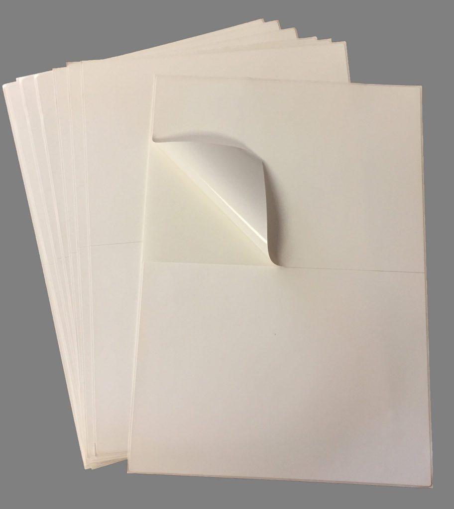 laser sheet labels