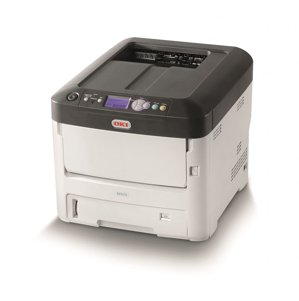 OKI Pro1040 label printer - The Hibiscus Range of Label Printers