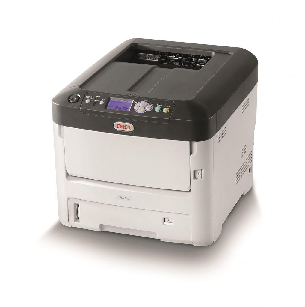 oki es7412 printer