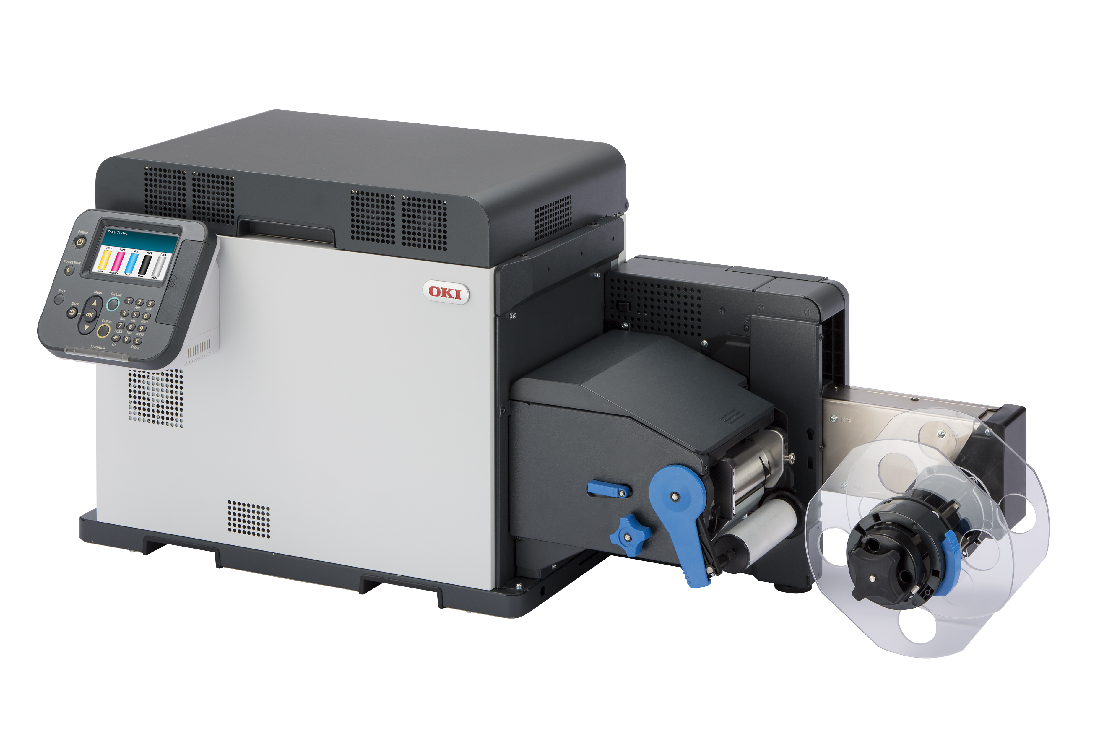 oki pro1040 label printer